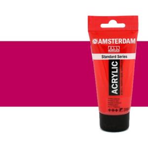 Acrílico Amsterdam n. 567 color violeta rojo permanente (250 ml)