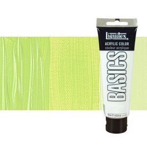 Liquitex Basics Acrylic Brilliant Yellow Green, 118 ml.