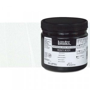 Liquitex Acrylic  Titanium  White Heavy Body, 946 ml.