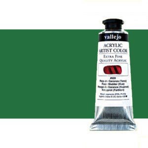 Acrylic Artist Vallejo Cobalt Green, 60 ml.