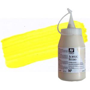 totenart-acrilico-vallejo-studio-1-amarillo-cadmio-limon-500-ml