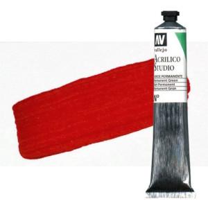 totenart-acrilico-vallejo-studio-2-rojo-cadmio-58-ml