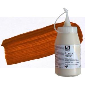 totenart-acrilico-vallejo-studio-9-dorado-oxido-hierro-500-ml