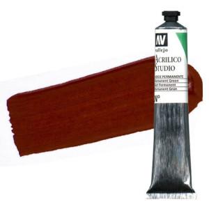 totenart-acrilico-vallejo-studio-9-rojo-oxido-hierro-58-ml