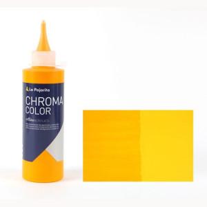 Totenart - Acrílico La Pajarita Amarillo Anaranjado Azo Chroma color (200 ml.)