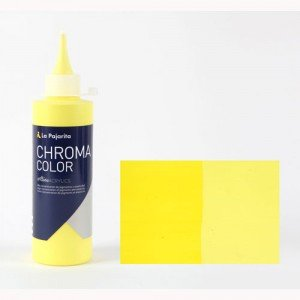 Totenart - Acrílico La Pajarita Amarillo Azo Limon Chroma color (200 ml.)