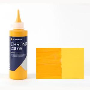 Totenart - Acrílico La Pajarita Amarillo Cadmio Oscuro Chroma color (200 ml.)
