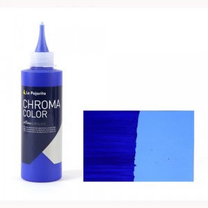 Totenart - Acrílico La Pajarita Azul Ultramar Chroma Color (200 ml.)