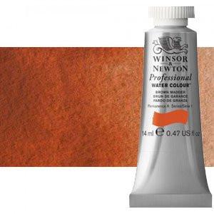 totenart-Acuarela Artist Winsor & Newton color rojo claro (14 ml)