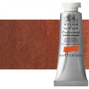 totenart-Acuarela Artist Winsor & Newton color rojo de Venecia (14 ml)