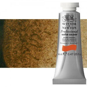 totenart-Acuarela Artist Winsor & Newton color sombra tostada (14 ml)