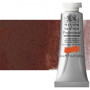 totenart-Acuarela Artist Winsor & Newton color violeta caput mortuum (14 ml)