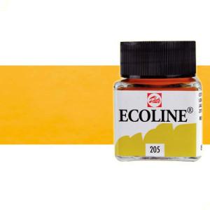 totenart-acuarela-liquida-ecoline-talens-231-ocre-oro-frasco-30-ml