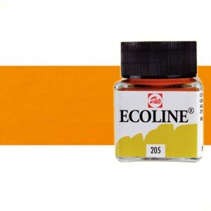 totenart-acuarela-liquida-ecoline-talens-236-naranja-claro-frasco-30-ml