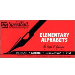totenart-Alfabetos elementales Speedball