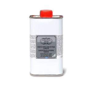 totenart-Barniz Proteccion negro LAMOUR (liquido), 250 ml. (Noir a recouvrir)