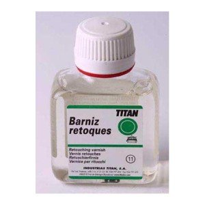 Retouch Varnish Titan, 100 ml.