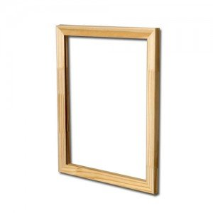 Frame without canvas 6F 41 x 33  cm. traditional thickness