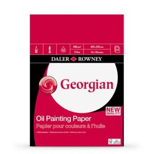 Daler-Rowney Oil 250 gr, 40,6x30,5 cm, block 12 s.