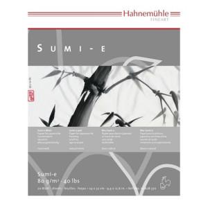 Papel pintura japonesa Sumi-e Block 80 gr, 24x32 cm.