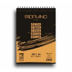 totenart-Esbozo Fabriano (Block), 60 h., 90 gr., A5