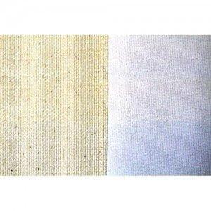 Tela algodón C18 imprimado, 280 gr, Gr. fino, rollo (2,10x10 m)
