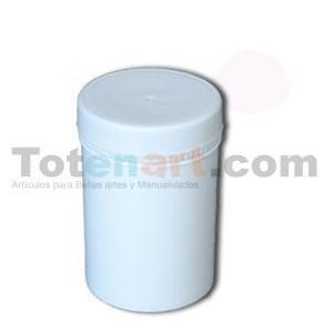 totenart-Bote Vacio plastico 250 ml. con tapa