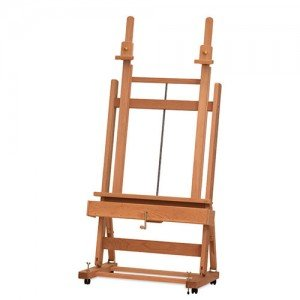 Studio Easel with Crank M 02 Mabef