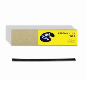Totenart-Carboncillos finos, 3-4 mm., Caja 10 uds.