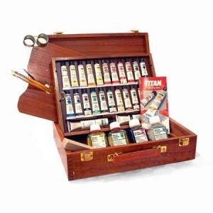 totenart-Oleo TITAN Extrafino, caja madera 24 col.