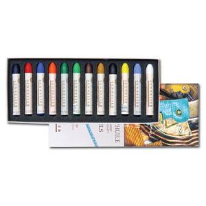 totenart-Caja pastel Oleo Sennelier 12 colores, Set Universal