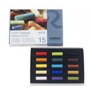 totenart-Caja pastel Rembrandt 15 medios colores, Seleccion General