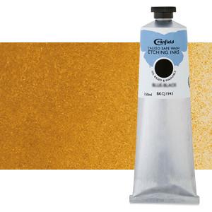 Tinta Grabado Ecológica Ocre Amarillo, tubo 150 ml.