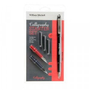William Mitchell Calligraphy Starter Set (3 nibs)