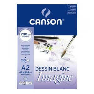 Imagine Canson Block, 42x59.4 cm, 200 gr, 50 s.