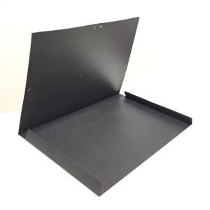 Totenart-Carpeta de gomas, solapas 37x50, negra