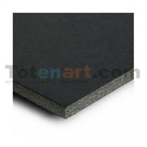 Totenart-Carton Pluma Negro, 10 mm., 100x70 cm., caja 15 unidades