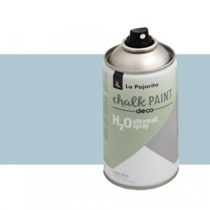totenart-Pintura Tiza en Spray, Azul Cristal, 300 ml