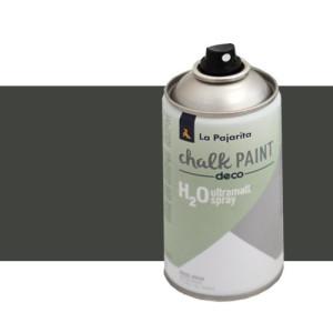 totenart-Pintura Tiza en Spray, Casi Negro, 300 ml