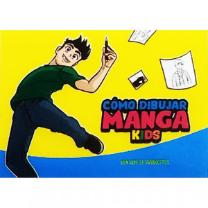 Step by Step Notebook, How to Draw Manga Kids Talens (In Spanish)