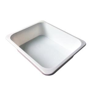 Plastic water bucket (not suitable for acids), 25,5x31x5,5 cm. aprox