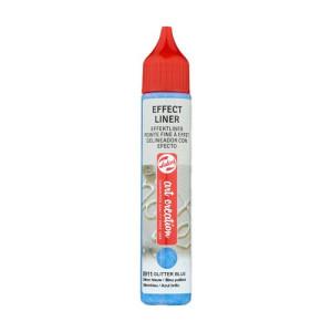 Glitter Blue Effect Liner 8911, 28 ml. Artcreation