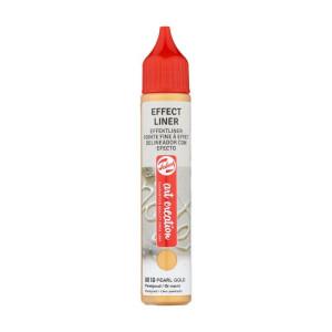 Pearl Gold Effect Liner 8510, 28 ml. Artcreation