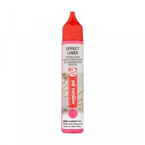 Shimmer Red Effect Liner 8950, 28 ml. Artcreation