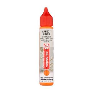 Warm Orange Effect Liner 2502, 28 ml. Artcreation