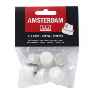 Spray Paint Caps Special Effects Amsterdam, pack 6 units