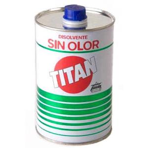 totenart-Disolvente sin olor Titan, 1000 ml.