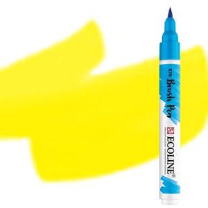 totenart-Rotulador Acuarela Ecoline Brush Pen Amarillo Limon