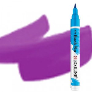 totenart-Rotulador Acuarela Ecoline Brush Pen Violeta Rojo