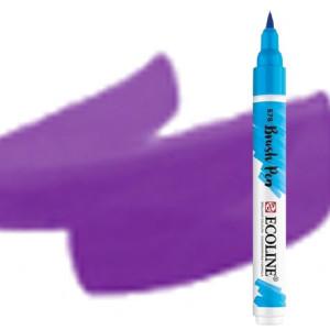 totenart-Rotulador Acuarela Ecoline Brush Pen Violeta Azul